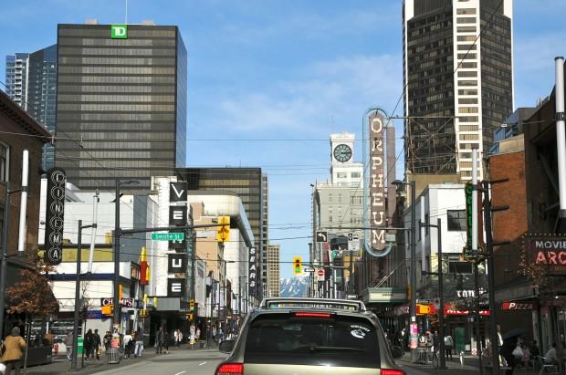 улицы, Канада