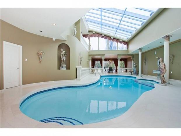 дизайн освещения,бассейн