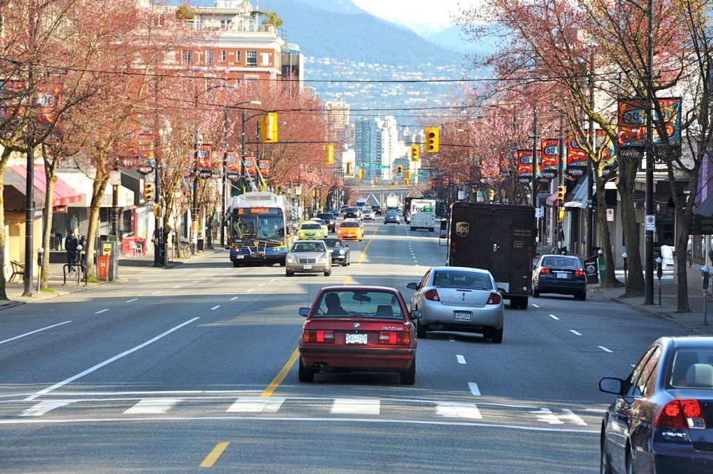 Улица, Ванкувер